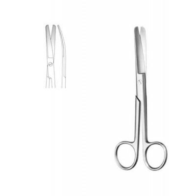 Nůžky chirurgické tupé zahnuté 14 cm S/M